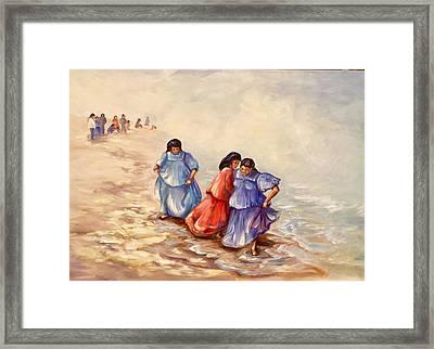 Apache Ocean Dance Framed Print