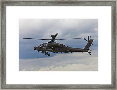 Apache Power Framed Print by Maj Seda