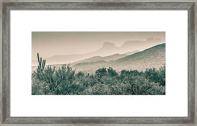Apache Trail Framed Print