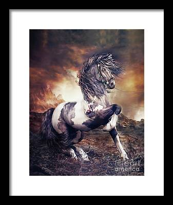 Southwestern Digital Art Framed Prints