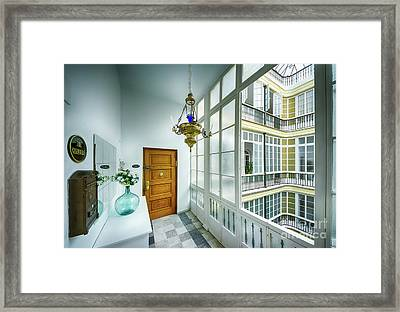 Framed Print featuring the photograph Apartment In The Heart Of Cadiz 17th Century Cadiz by Pablo Avanzini