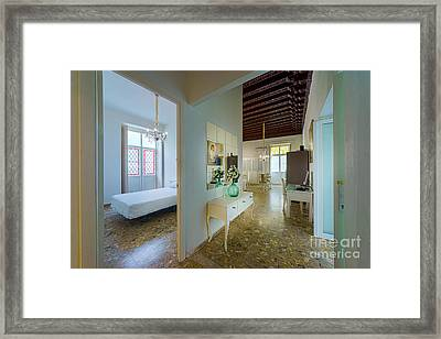 Framed Print featuring the photograph Apartment In The Heart Of Cadiz 17th Century Spain by Pablo Avanzini