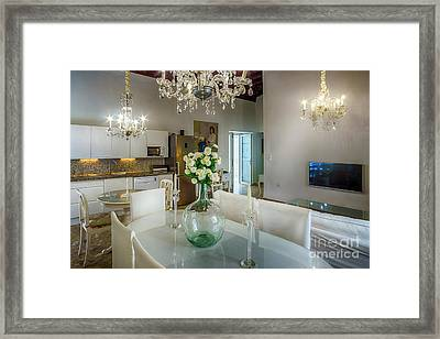 Framed Print featuring the photograph Apartment In The Heart Of Cadiz Spain 17th Century by Pablo Avanzini