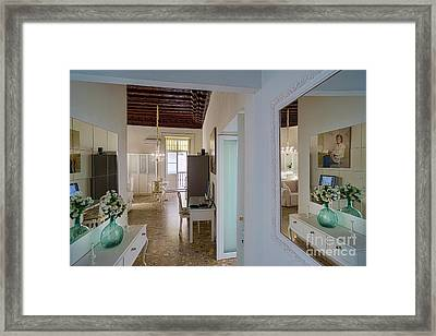 Framed Print featuring the photograph Apartment In The Heart Of Cadiz Spain by Pablo Avanzini
