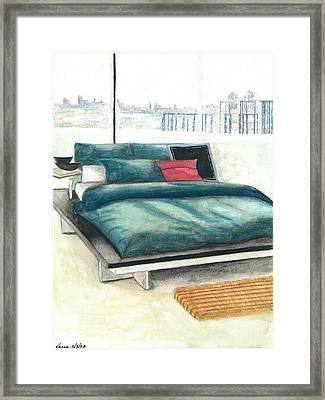 Apartment Framed Print