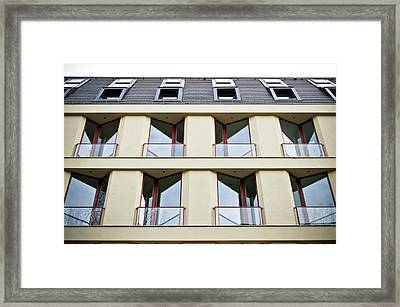 Apartment Framed Print by Tom Gowanlock