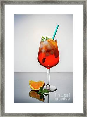 Aperol Spritz  Framed Print