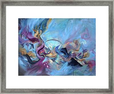 Apex Of The Vortex Framed Print