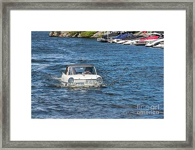 Amphibian Car Framed Print