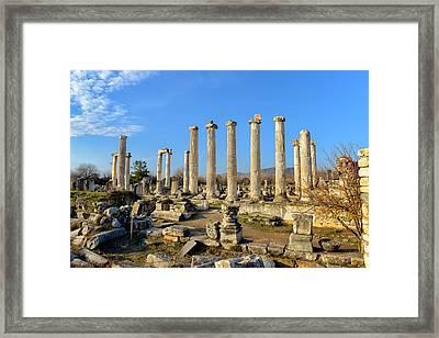 Aphrodisias City, Turkey Framed Print by Ivan Batinic