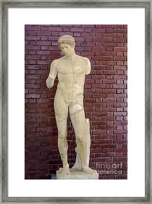 Aphrodisias Discophoros Framed Print by Bob Phillips