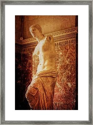 Aphrodite Of Milos Framed Print by JAMART Photography