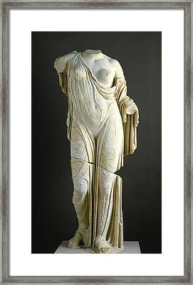 Aphrodite Framed Print by Roman School
