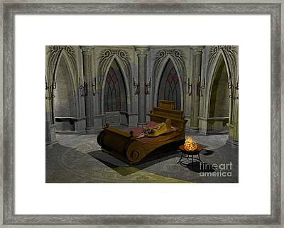 Aphrodite Framed Print by Sipo Liimatainen