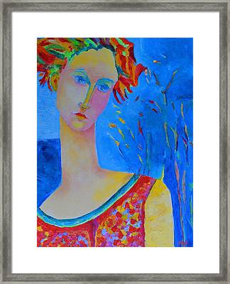 Aphrodite's First Love Framed Print by Magdalena Walulik