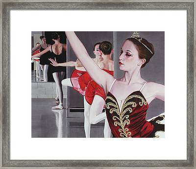 Aplomb Framed Print by Denny Bond