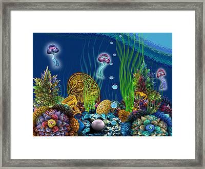 Apo Sunken Treasure Framed Print by Peggi Wolfe