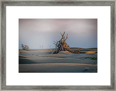Apocalypse Walkers Framed Print
