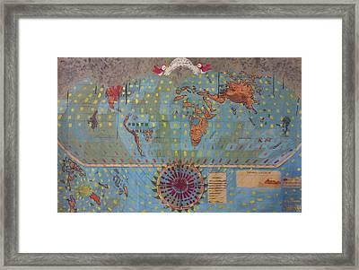 Apocalypse 3050 Framed Print by William Douglas