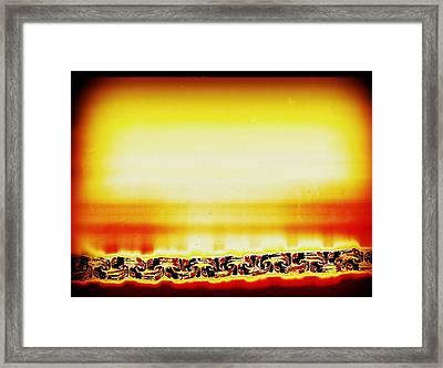 Apocalypse Captured Framed Print by Dolly Mohr