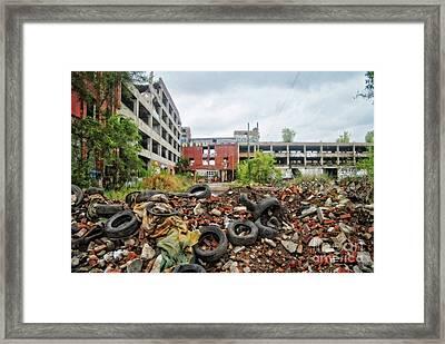 Apocalypse Detroit 11 Framed Print by Walter Oliver Neal
