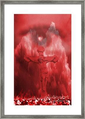 Apocalypse Framed Print by Jason Williams