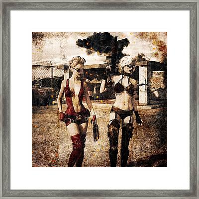 Apocalypse War 2 Framed Print