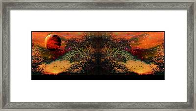 Apocalyptic Epitaph  Framed Print by Darin Baker