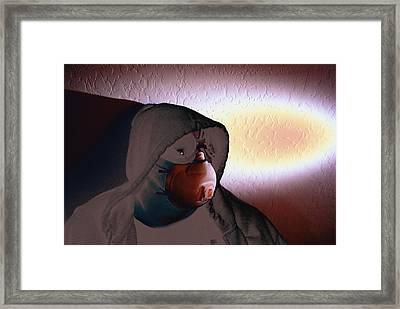 Apocolypse Boy Framed Print by Sean-Michael Gettys