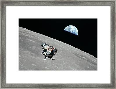 Apollo 11 Framed Print by Peter Chilelli