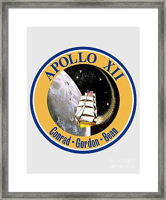 Apollo 12 Insignia Framed Print