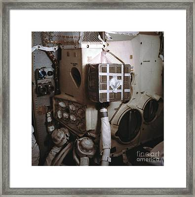 Apollo 13s Mailbox Framed Print by Nasa