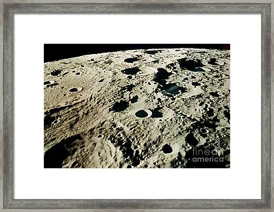 Apollo 15: Moon, 1971 Framed Print by Granger