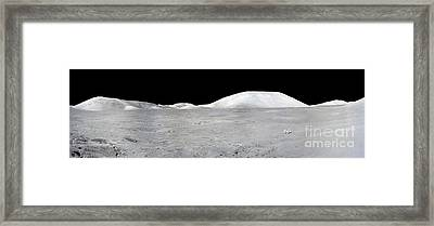 Apollo 17 Panorama Framed Print by Stocktrek Images