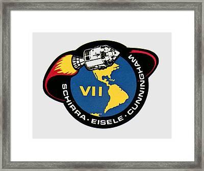 Apollo 7 Framed Print by Otis Porritt