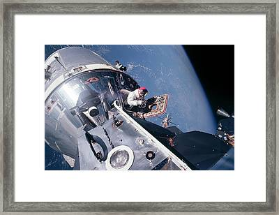 Apollo 9 Framed Print
