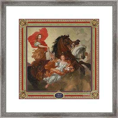Apollo And Aurora Framed Print by John Dobie
