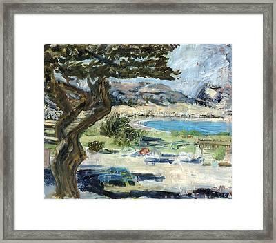 Apollo Bay Framed Print by Joan De Bot