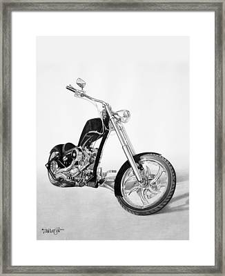 Apollo Chopper Framed Print