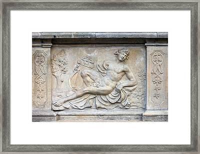 Apollo Relief In Gdansk Framed Print
