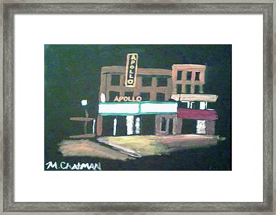 Apollo Theater New York City Framed Print