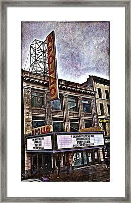 Apollo Theatre, Harlem Framed Print