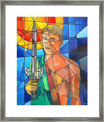 Apollo Framed Print by Tim Lin apprentice to E Gibbons