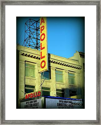 Apollo Vignette Framed Print by Ed Weidman