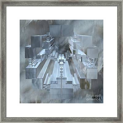 Apollonian Gasket Framed Print