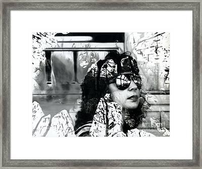 Apostate In Turmoil Framed Print by Jeff Danos