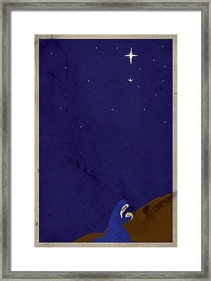 Apostles' Creed 2 - Incarnation Framed Print by Jason Custer