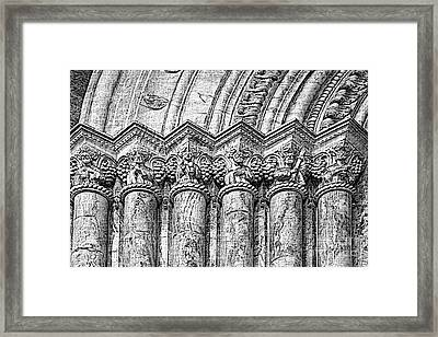 Apostles On Immaculate Conception II Framed Print by Al Bourassa