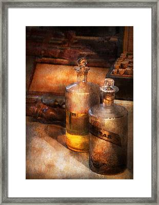 Apothecary - Special Medicine  Framed Print