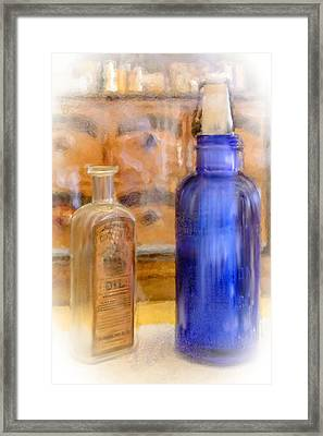 Apothecary Framed Print by Mary Timman